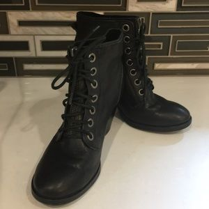 Kork-ease black booties 7